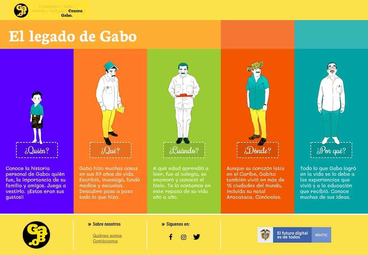 Especial multimedia Centro Gabo