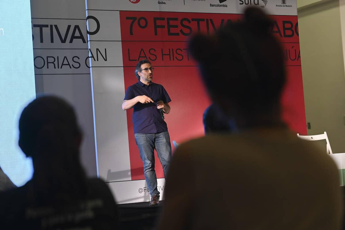 Damián Osta, gerente de La Diaria.