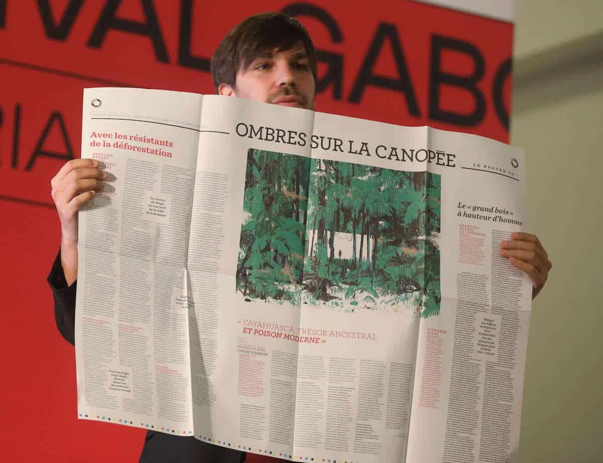 Julien Bisson, editor jefe de Le 1 y America.