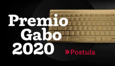 Postula al Premio Gabo 2020.