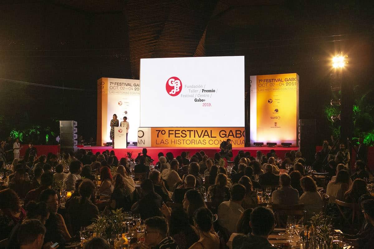 Ceremonia del Premio Gabo en el Festival Gabo.