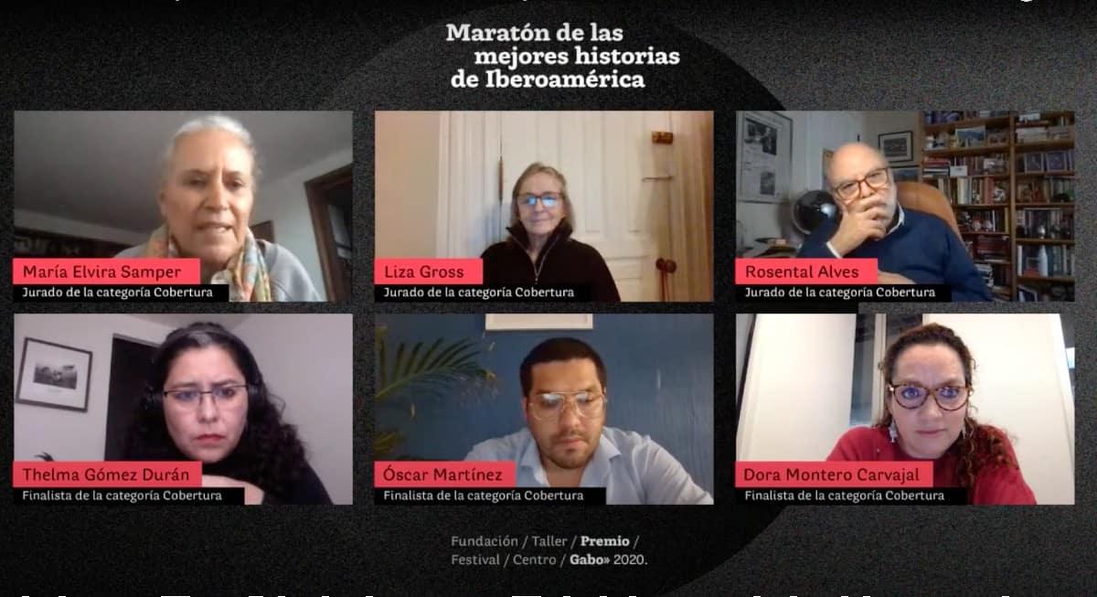 Maratón de las mejores historias categoría Cobertura.